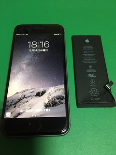 229_iPhone6Sのバッテリー交換