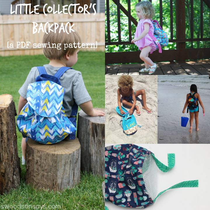 Little Collectors Backpack Swoodson Says