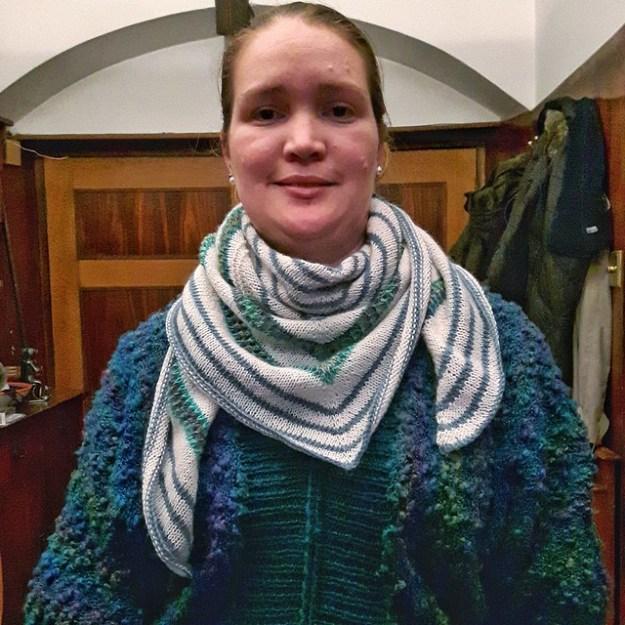 Machir bay shawl