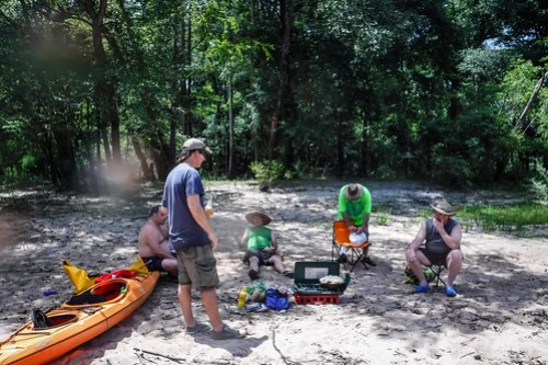 Edisto River Beer Commercial and Rope Swing Float-54