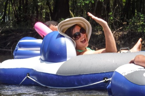 Edisto River Beer Commercial and Rope Swing Float-73