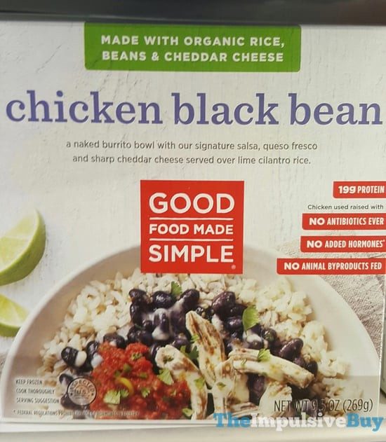 Good Food Made Simple Chicken Black Bean