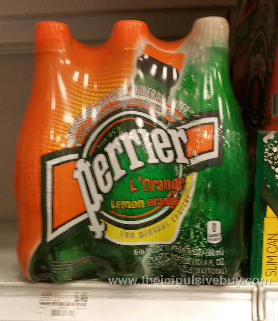 Perrier L'Orange Mineral Water