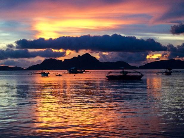 Atardecer en Filipinas