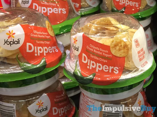 Yoplait Dippers Chipotle Ranch with Tortilla Chips