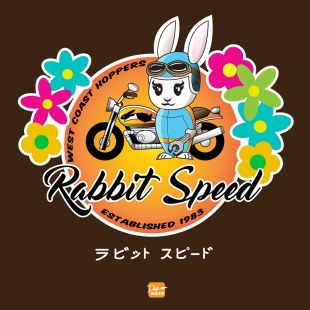 Rabbit Speed Biker Girl