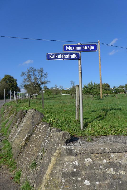 A la découverte de Trier (Allemagne) - 001 - Route de Trier