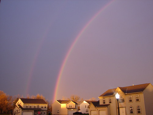 Double Rainbow - Easter Morning