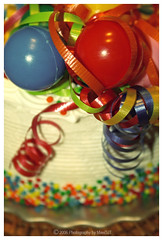 Birthday Cake Balloons