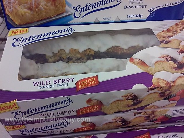 Entenmann's Limited Edition Wild Berry Danish Twist