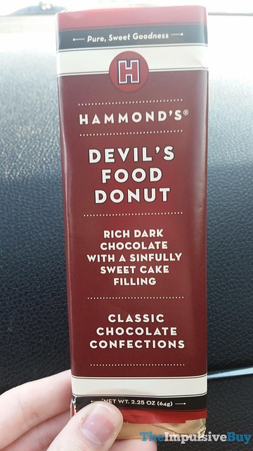 Hammond's Devil's Food Donut Classic Chocolate Confections