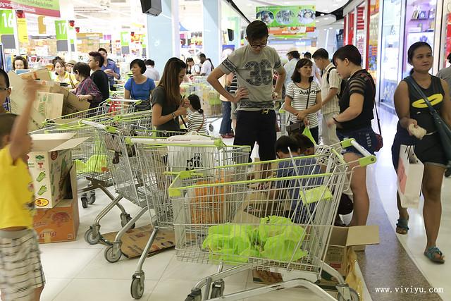 big C,大賣場,手標茶葉,曼谷,泰國,泰國必買,蛇牌 @VIVIYU小世界