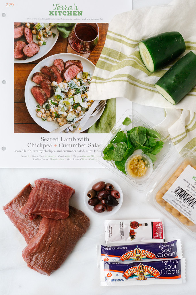 Terra's Kitchen Seared Lamb meal kit #arecipeforreallife #ad