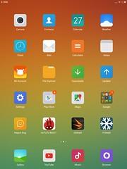 แม้ว่าไอคอนจะเป็นคนละเรื่องเลย แต่สไตล์ของ MIUI นี่ ทำให้ผมนึกถึง iPad Mini ชอบกล