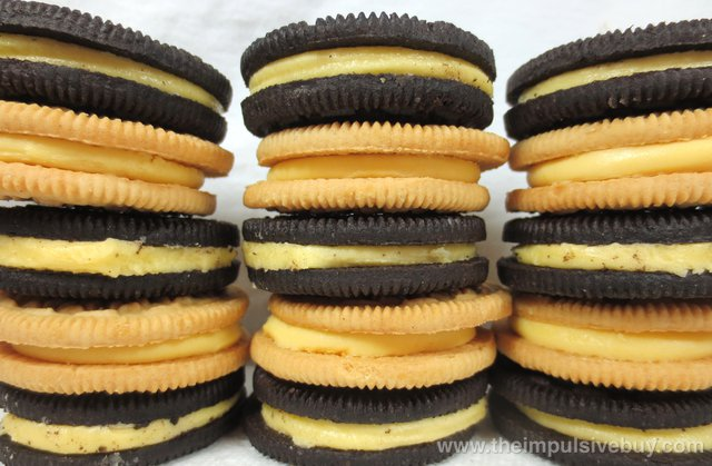 Limited Edition Lemon Twist Chocolate Oreo Cookies Compare