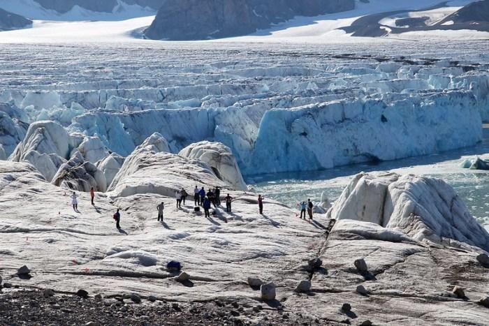 14 July Glacier, Svalbard, Arctic
