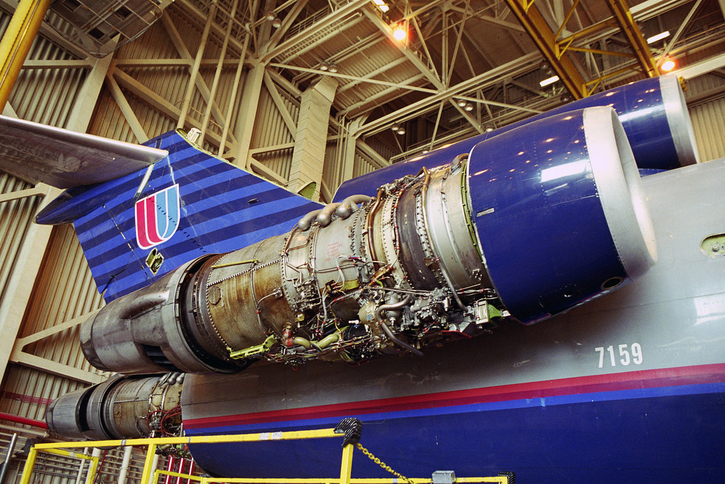 Jt8d 15 Ual 727 222 N7259u Pratt Amp Whitney Jt8d 15