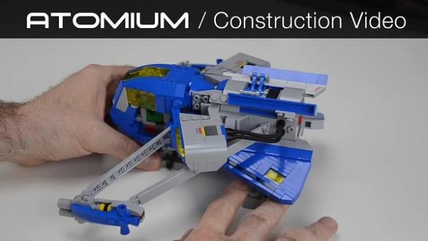 Atomium: Construction Video
