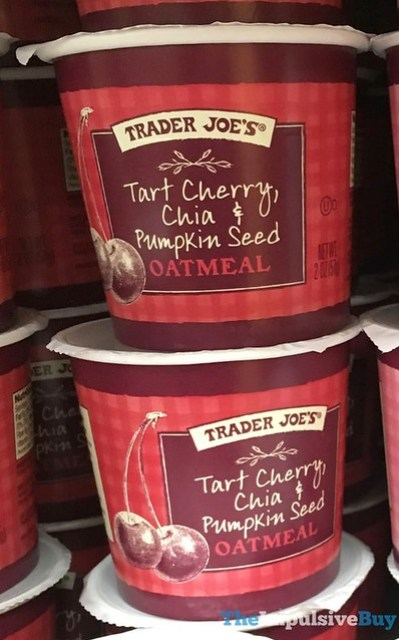 Trader Joe's Tart Cherry, Chia & Pumpkin Seed Oatmeal