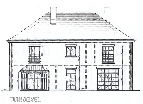 House Plans: Back View