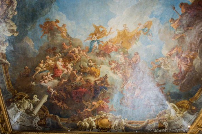"""The Apotheosis of Hercules"" Hercules Salon Versailles"