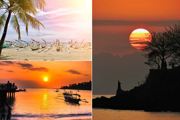 Sunset di Pantai Sengigi