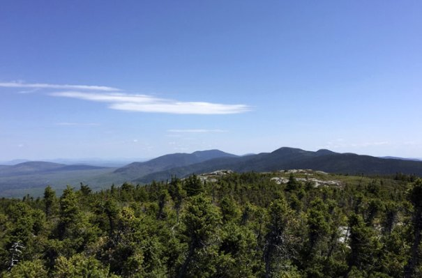 Mt Success North AT View