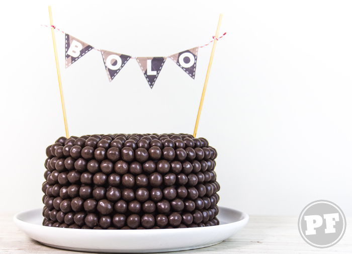 Bolo de Chocolate com Amendoim | Chocolate Peanut Cake