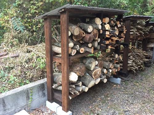 Firewood Shelf