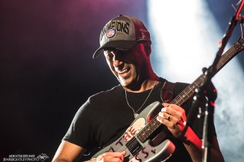 Tom Morello with the X Ambassadors