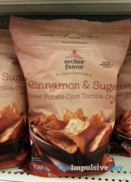 Archer Farms Limited Edition Cinnamon & Sugar Sweet Potato Corn Tortilla Chips