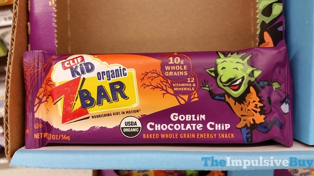 Clif Kid Goblin Chocolate Chip Z Bar