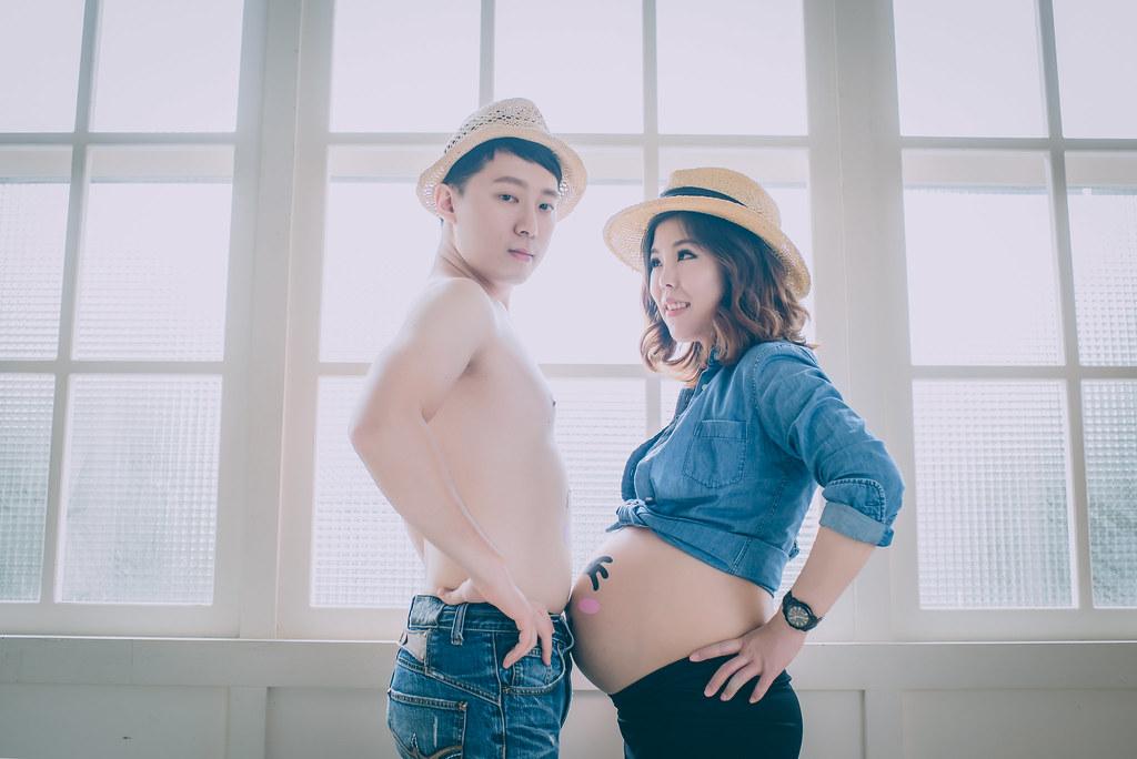 [葉子婚攝團隊]孕婦寫真 Evelyn