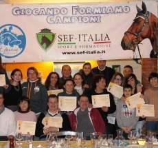 Premiazione Campionato di Gimkana Country Emilia Romagna 2016