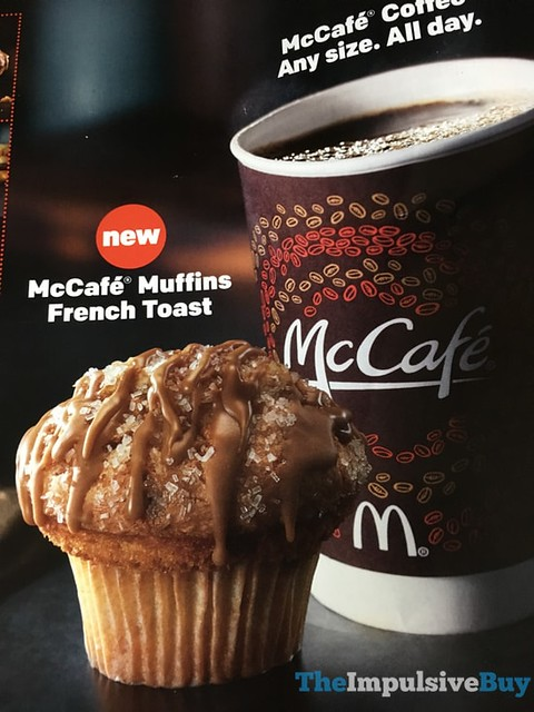 McDonald's McCafe French Toast Muffins