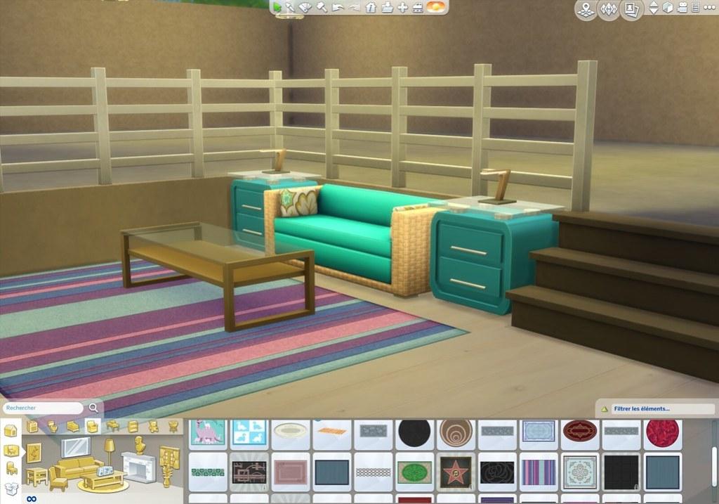 tuto sims 4 cr er un demi niveau simcookie news sur les sims 4. Black Bedroom Furniture Sets. Home Design Ideas