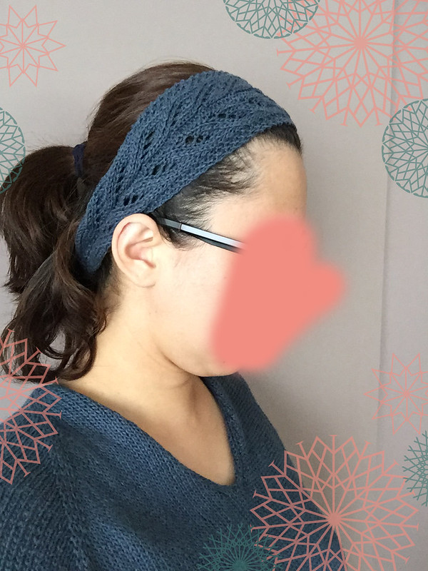 Serenity Headband - wearing