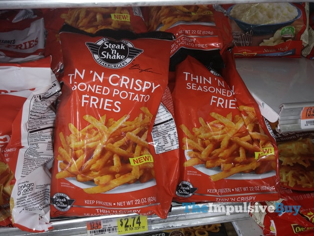 Steak n' Shake Thin 'n Crispy Seasoned Potato Fries