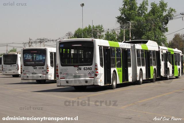 Transantiago - Subus Chile - Caio Mondego LA / Volvo (ZN6340) (9049)