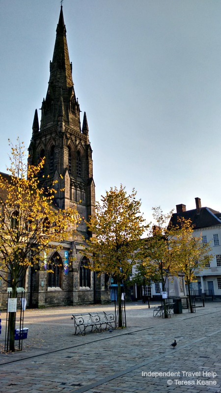 Market Square in Lichfield