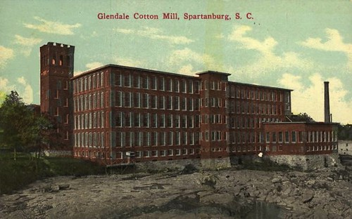 Glendale Cotton Mill circa 1910