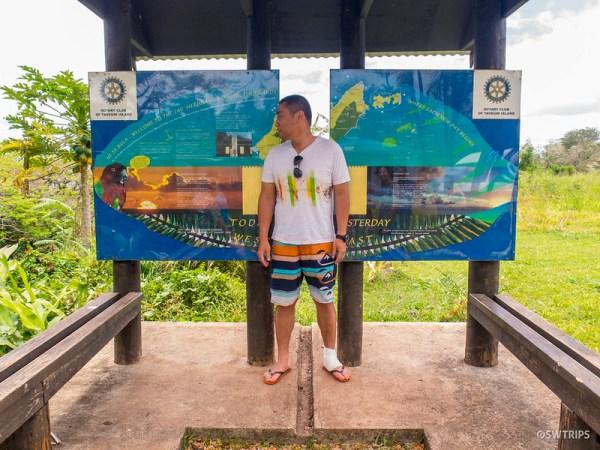 International Date Line, Taveuni, Fiji