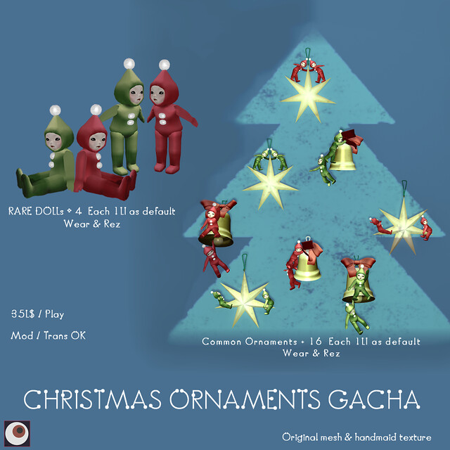 *NAMINOKE*Christmas_ornament Gacha