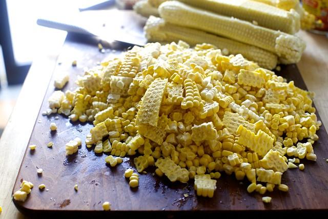 a ton of corn