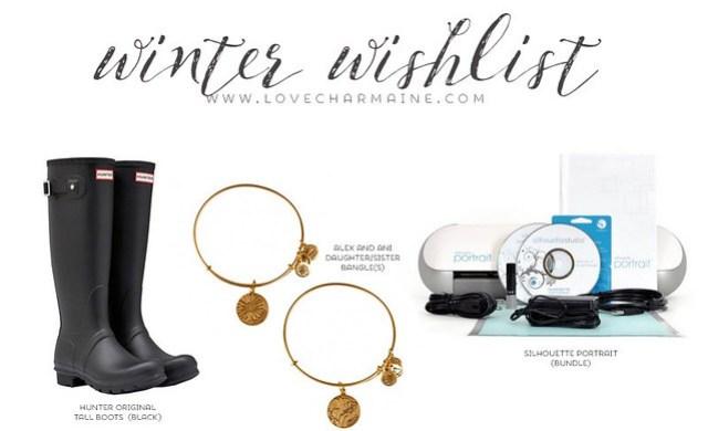Winter Wishlist | LoveCharmaine.com