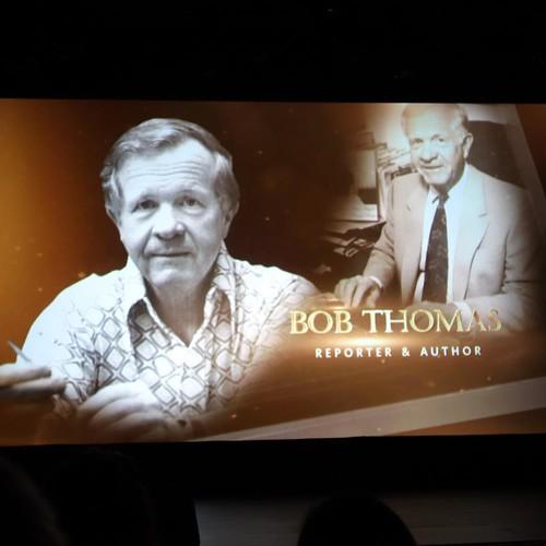 ウォルトの伝記を書いたボブ・トマス。