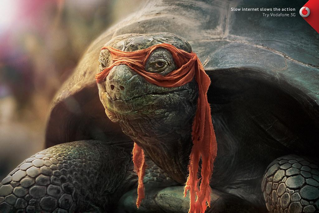 Vodafone 3G - Ninja Turtle