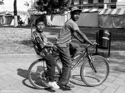 Dos vidas, dos ruedas.