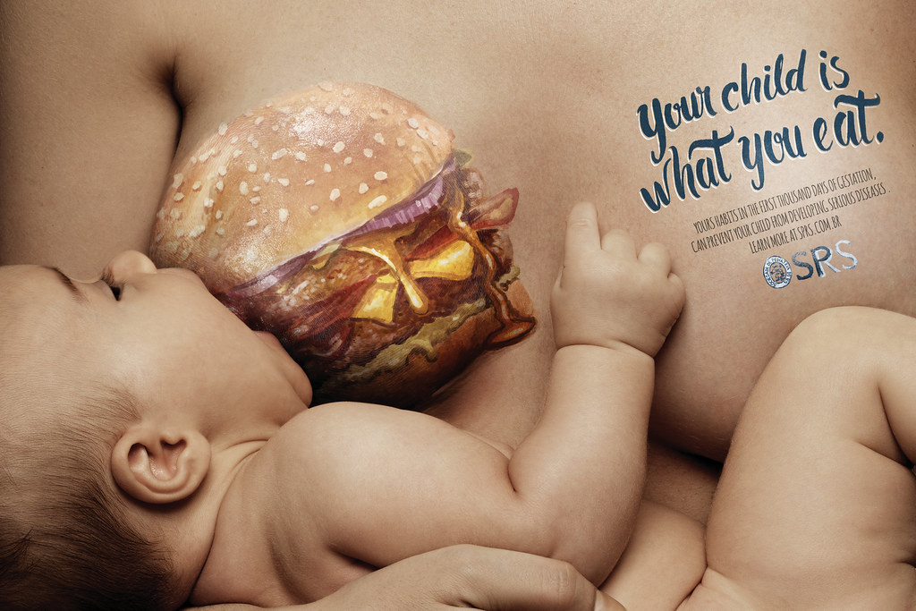 SPRS - Your child is what you eat Burger