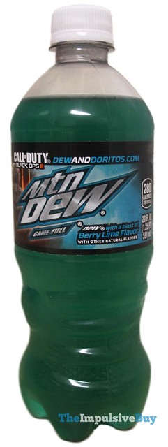 Mountain Dew Game Fuel Berry Lime